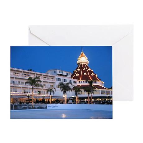 Hotel Del Coronado Holiday Greeting Card