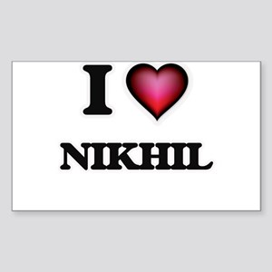 I love Nikhil Sticker