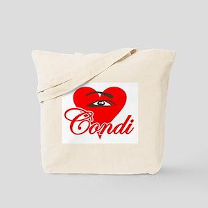 EYE HEART CONDI Tote Bag