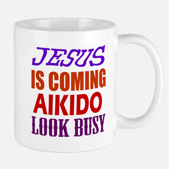 Jesus Is Coming Aikido Martial Arts Mug