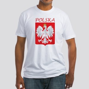 White Eagle and Polska Fitted T-Shirt