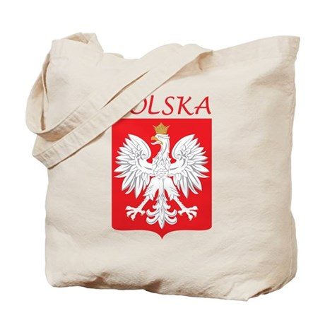 White Eagle and Polska Tote Bag