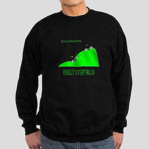 Cycling Hazards - Really Steep Hill Sweatshirt