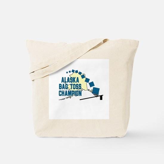 Alaska Bag Toss Champion Tote Bag