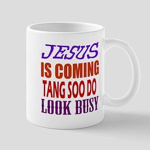 Jesus Is Coming Tang Soo do Martial Art Mug
