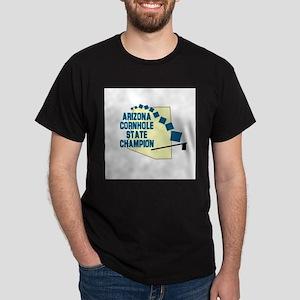 Arizona Cornhole State Champi Dark T-Shirt