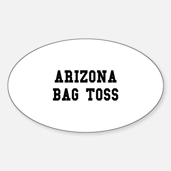 Arizona Bag Toss Oval Decal