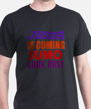 Jesus Is Coming Sumo Martial Arts T-Shirt