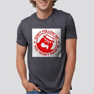 Don't Follow Me red T-Shirt
