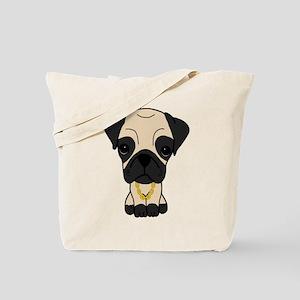Thug Pug Tote Bag