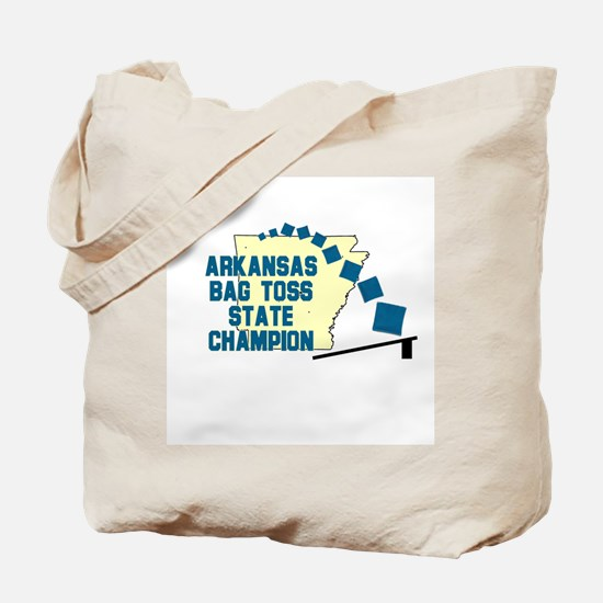 Arkansas Gab Toss State Champ Tote Bag