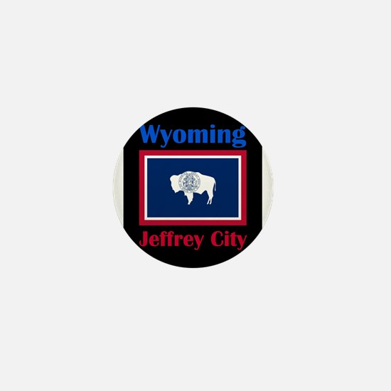 Jeffrey City Wyoming Mini Button