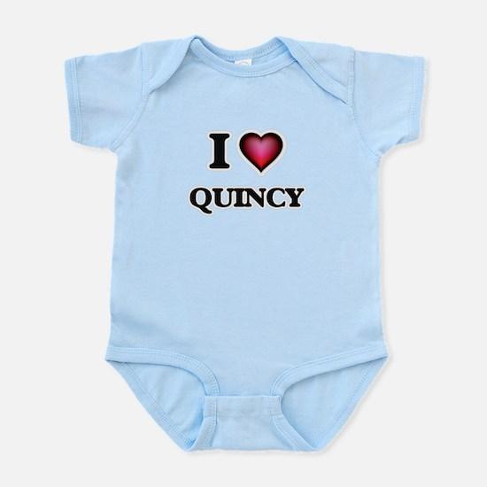 I love Quincy Body Suit