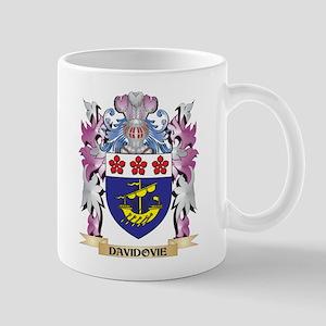 Davidovie Coat of Arms (Family Crest) Mugs