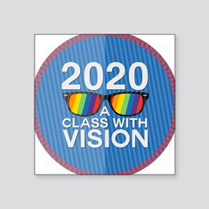 2020 A Class With Vision, Rainbow Sticker