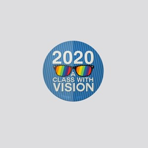 2020 A Class With Vision, Rainbow Mini Button