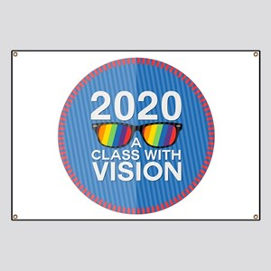 2020 A Class With Vision, Rainbow Banner