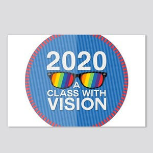 2020 A Class With Vision, Rainbow Postcards (Packa