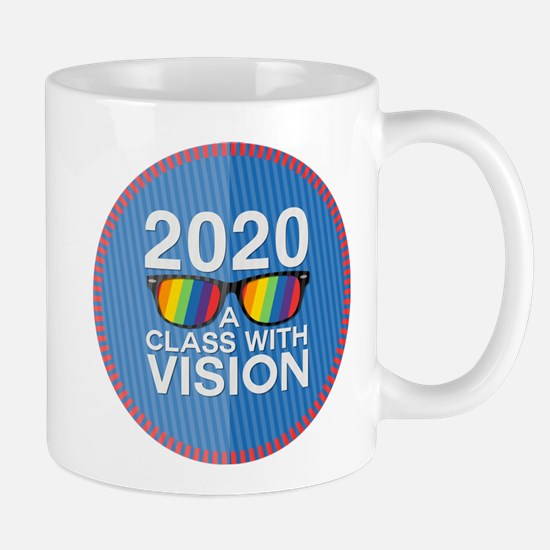 2020 A Class With Vision, Rainbow Mugs