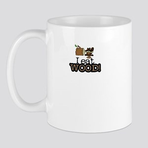 I eat WOOD Mug