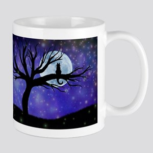 Cosmic Cat Stainless Steel Travel Mugs