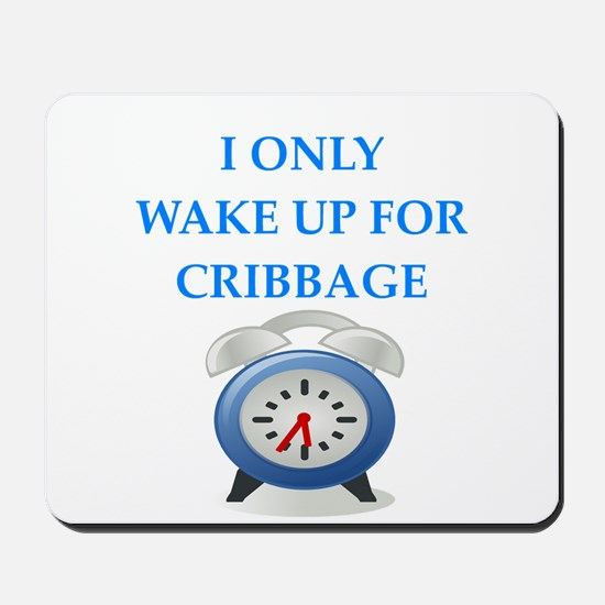 cribbage Mousepad