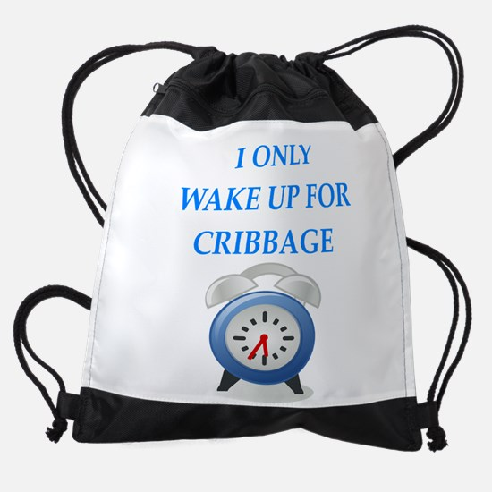 cribbage Drawstring Bag