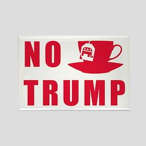 NO Trump Tea Party Magnets