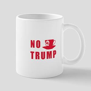 NO Trump Tea Party Mugs
