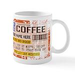 Personalize Vintage Prescription Coffee Mugs