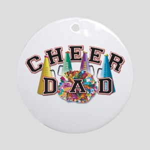 Cheer Dad Ornament (Round)