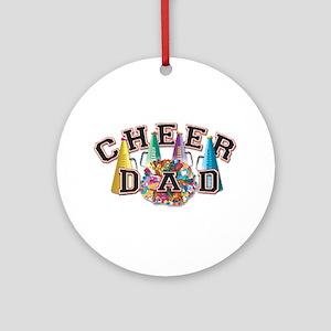 Cheer Dad Ornament (Round)
