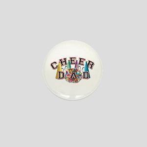 Cheer Dad Mini Button