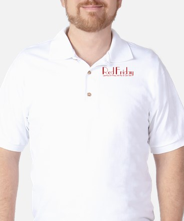 Red Friday [Quilled] Golf Shirt