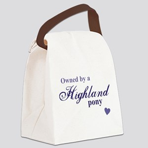 Highland pony Canvas Lunch Bag
