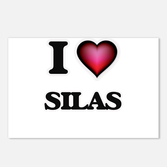 I love Silas Postcards (Package of 8)