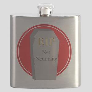 RIP Net Neutrality Flask