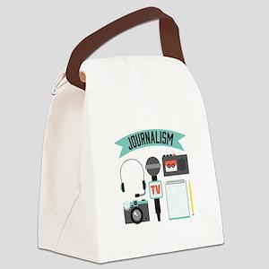 Journalism Canvas Lunch Bag