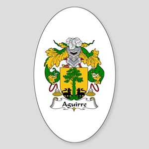 Aguirre Oval Sticker