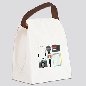 Reporter Canvas Lunch Bag