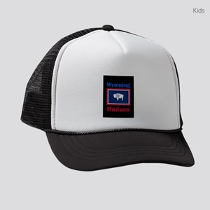 Hudson Wyoming Kids Trucker hat