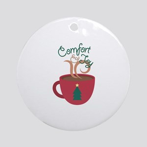 Comfort & Joy Round Ornament