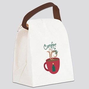 Comfort & Joy Canvas Lunch Bag