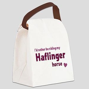 Haflinger horse Canvas Lunch Bag