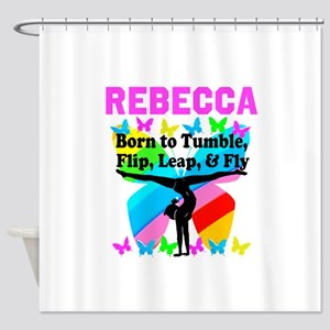 GYMNAST CHAMP Shower Curtain