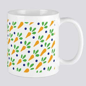 Carrot Calico Ditzy 11 oz Ceramic Mug