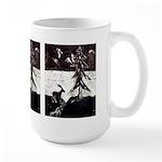 Fantasy Deer Painting Large Mug