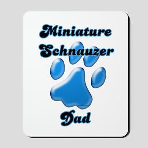 Mini Schnauzer Dad3 Mousepad