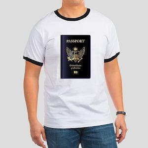 United States of America Passport T-Shirt