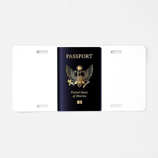 United States of America Pa Aluminum License Plate